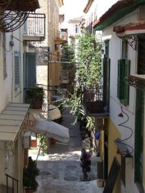Le vie antiche di Nafplio